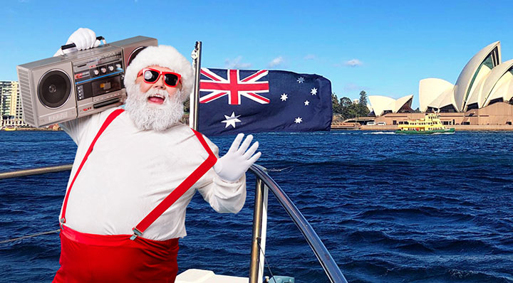 Christmas in July Lunch Cruises